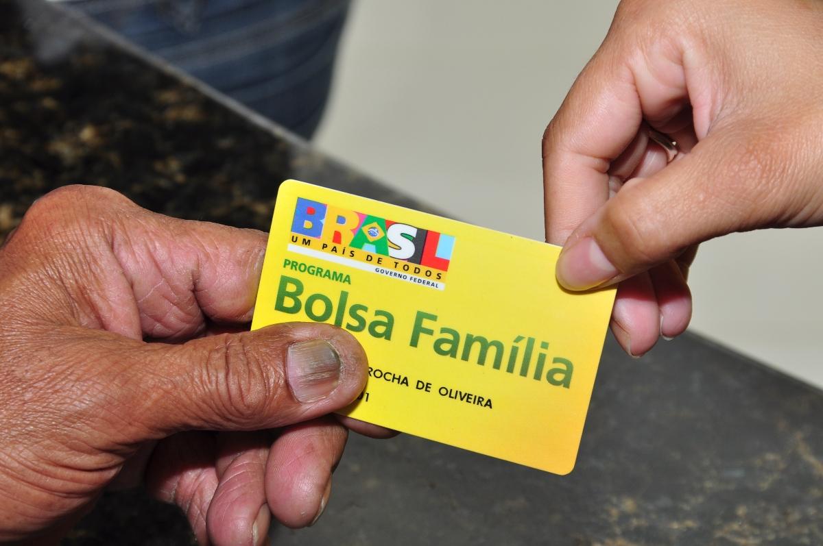 Cartão do Bolsa Família. Foto: emprestimo.org