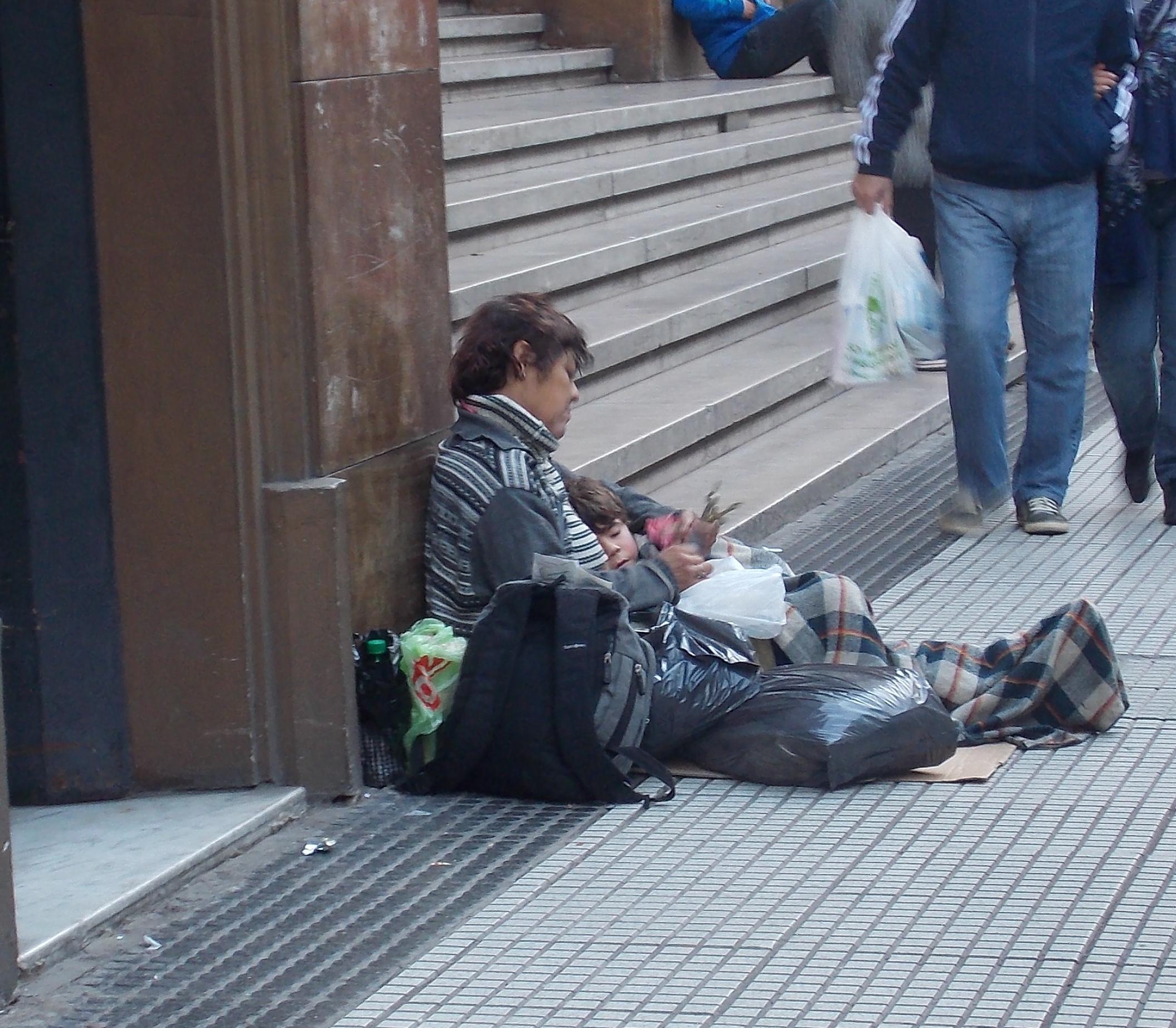 Cresce o número de pobreza na Argentina