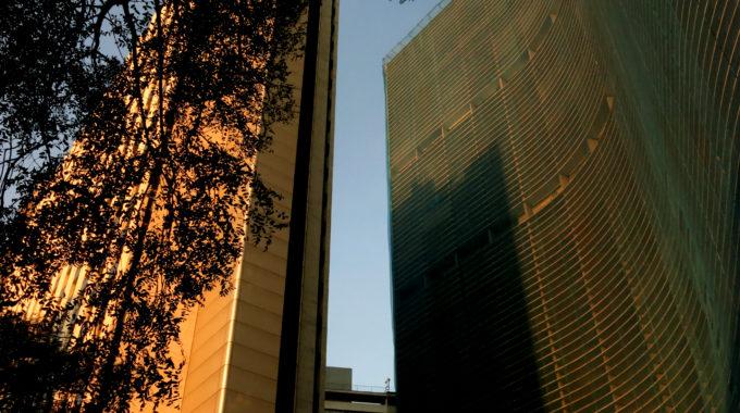 Edifício Copan, Em São Paulo. Foto Por: Sara Abdo