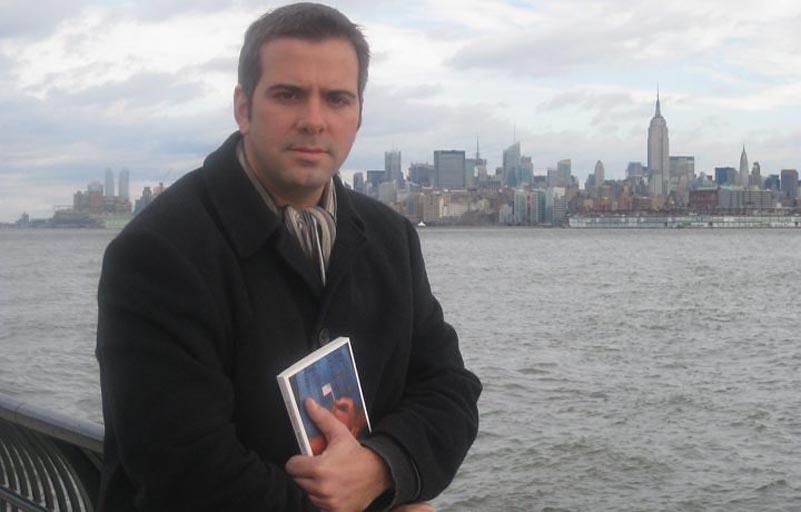 Rodrigo Alvarez, autor do livro -No País de Obama- e correspondente da Tv Globo no EUA