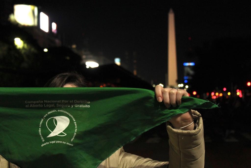 Campanha pelo aborto se impõe em Buenos Aires. Foto por: Ethel Rudnitzki