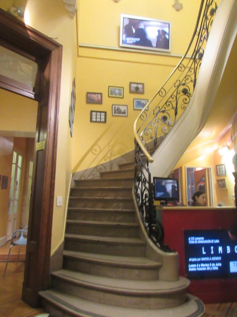 O Centro de Investigación Cinematográfica é uma das escolas privadas de cinema mais conceituadas de Buenos Aires. Foto por: Bárbara Garcia