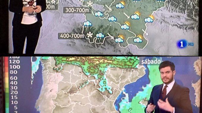 A Previsão Do Tempo Na TV Espanhola
