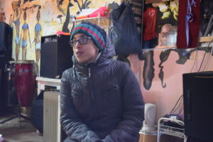 Meryem Tahoune, jovem marroquina participante do coletivo El Templo Afro