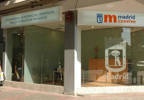 Oficina de Integração para imigrantes em Madrid. Crédito: Espormadrid