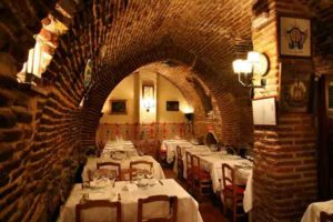 """Image: 0089922133, License: Rights managed, Restaurant """"Sobrino de Botin"""" in Madrid. The oldest restaurant in the world as Record Guinness book, Place: ,, Model Release: No or not aplicable, Credit line: ., Teresa"""