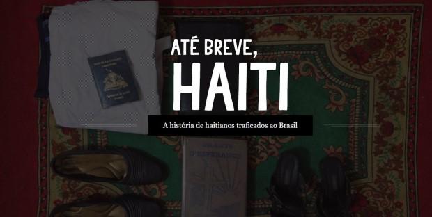 "Site do projeto ""Até Breve, Haiti"""