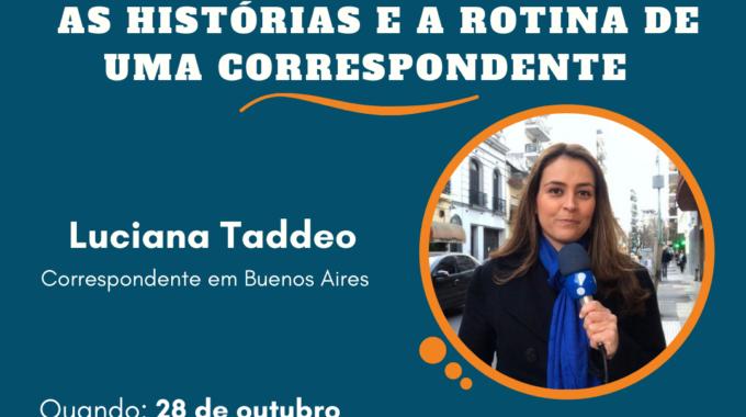 Live – As Histórias E A Rotina De Uma Correspondente